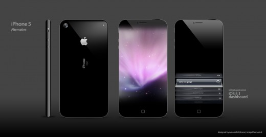 iPhone 5 Mockup: Size Zero