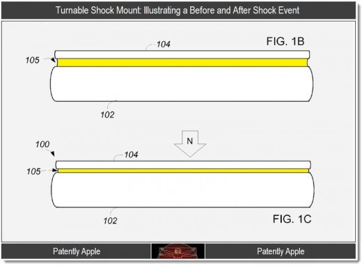 Patent: iPhone 5 mit Display-Airbag?