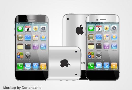 iPhone 5 Mockup: Curvy, von DorianDarko