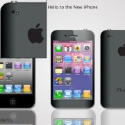 "iPhone 5 Konzept: ""How I wish it was"" (schwarz) von DorianDarko"