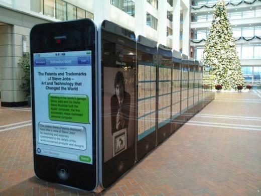 Großer Innovator: Steve Jobs Ausstellung im US Patentamt-Museum