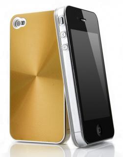 Quadocta Agentum Gold Hardcase für iPhone 4