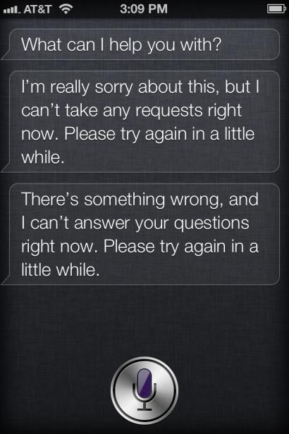 Siri: Service-Ausfall in den USA