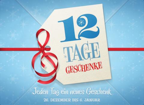 12 Tage, 12 Geschenke ab 26. Dezember