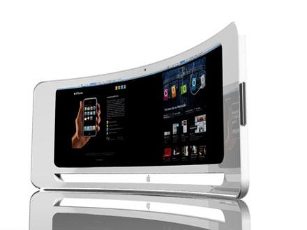 Kommt 2012 vielleicht sogar ein kurviger iMac?