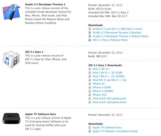 iOS 5.1 beta 2: Bilder aus Photostream löschen, zahlreiche Bugfixes
