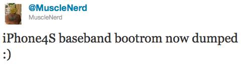 MuscleNerd: iPhone 4S BootROM erfolgreich ausgelesen