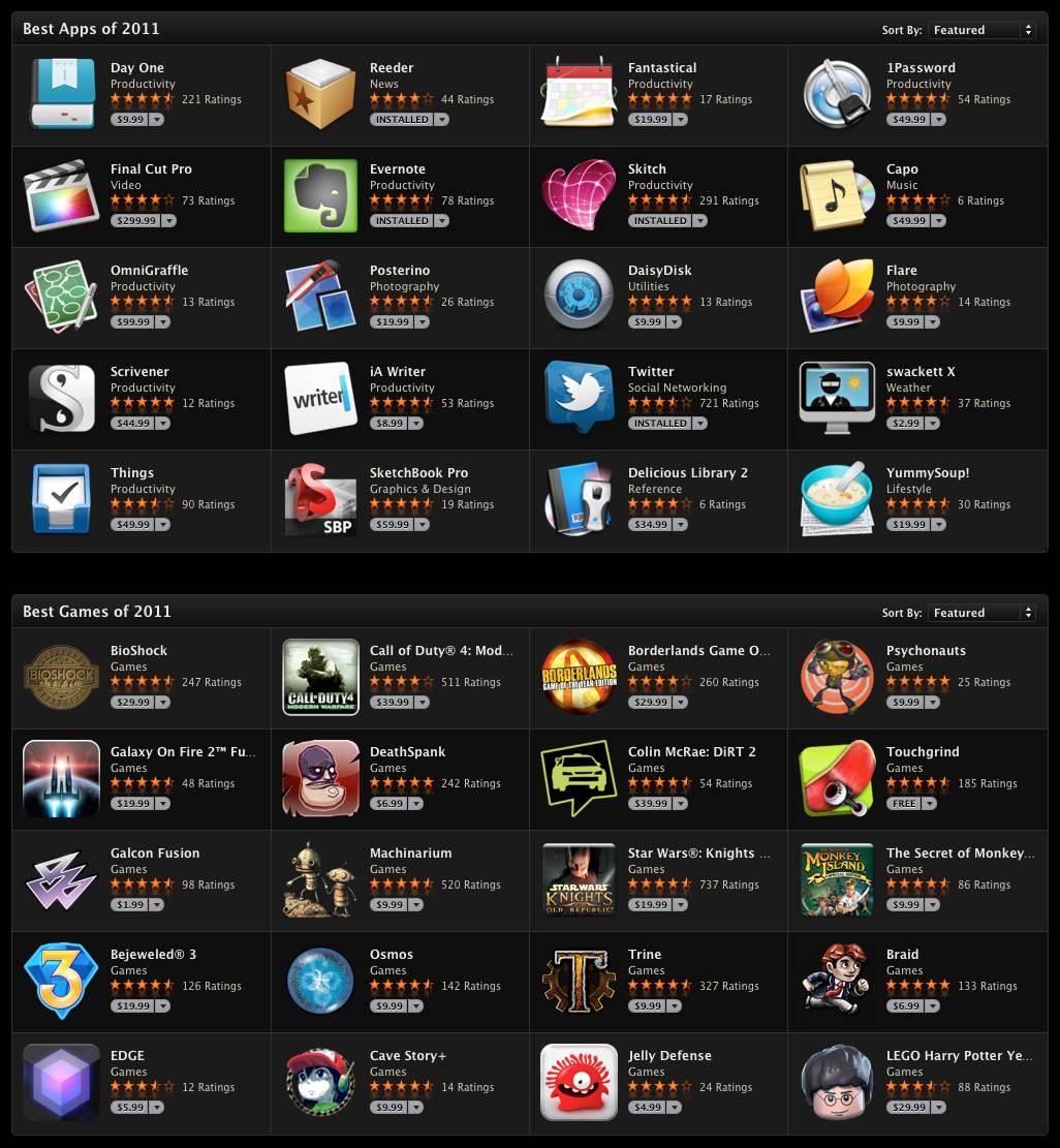 rewind 2011 die besten apps und spiele des jahres iphone news die neuesten informationen zu. Black Bedroom Furniture Sets. Home Design Ideas