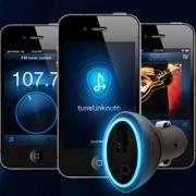 TuneLink Bluetooth FM-Transmitter für Ihr Auto
