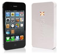 Größenvergleich: xPrintServer und iPhone