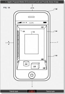 Apple entwirft 3D Interface für iPhone & iPad, mit berührungslosen Sensoren