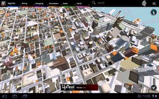 UpNext HD Maps: Beeindruckende 3D-Karten App für iPad