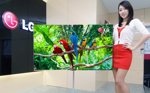LG präsentiert 55-Zoll OLED HDTV. Gut genug für ein Apple HDTV?