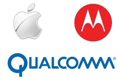 Apple gegen Motorola: Gegenklage wegen Bruch des Lizenzabkommens mit Qualcomm