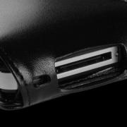 SENA Magnetflipper aus Leder für iPhone 4S/4