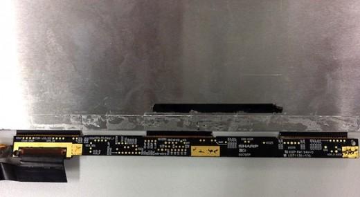Retina Display Großbestellung: 65-70 Millionen iPad Displays für 2012 - im Bild ein mutmaßliches iPad 3 Display Panel von Sharp