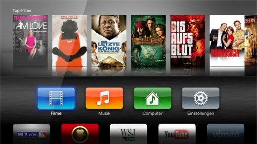 Apple TV: Oberfläche alter Hut