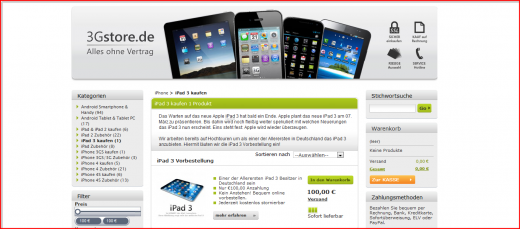 iPad 3: Die ersten Vorbestellungen sind möglich