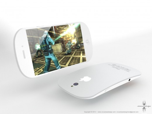 iPhone 5 Konzept: iPhone meets Magic Mouse
