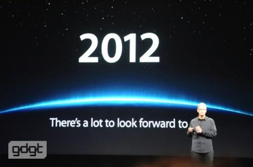 2012: Es gibt viel, worauf wir uns freuen dürfen.