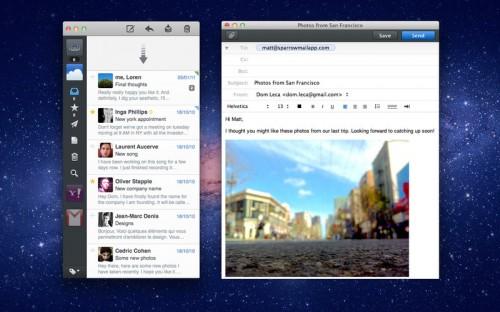 Sparrow for Mac: Aktuelles Angebot für 5,99 US-Dollar