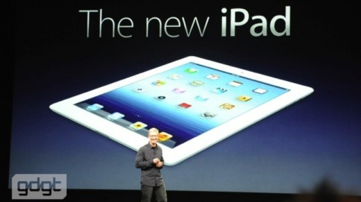 Live: Alle Infos zum iPad 3