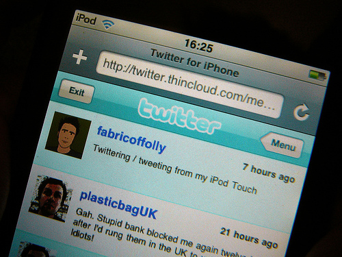 Twitter for iPhone: Probleme bei der Anzeige von Replies