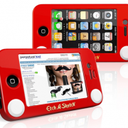 4. Etch-A-Sketch iPhone Case