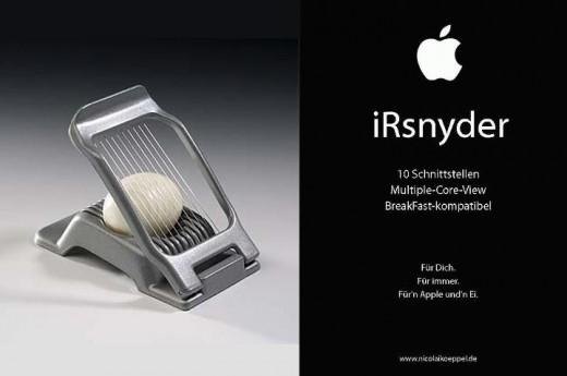 Neu im Apple-Portfolio: Der iRsnyder [Fun]
