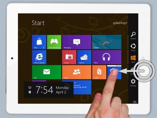 Splashtop: So kommt Windows 8 auf das iPad
