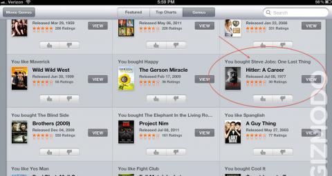 iTunes: Wer Jobs mag, der mag auch Hitler?