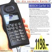 Rückblick: Handy-Angebote heute und vor 20 Jahren