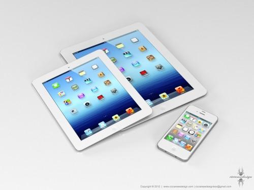 iPad Mini mit 7,85 Zoll-Display: Neues Mockup aufgetaucht