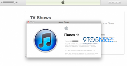 iTunes: Apple arbeitet an iTunes 11 und iOS 6 Integration