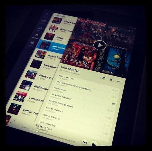 Spotify für iPad: Release der offiziellen App am Mittwoch?