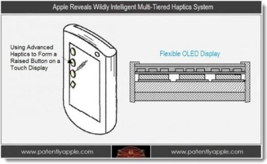Apple scheint weiter an haptischen Touchscreens zu arbeiten