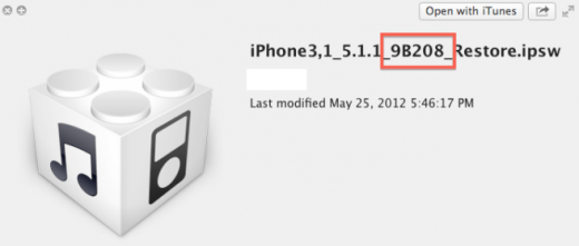 iOS 5.1.1, iPhone 4 GSM: Neue Build-Version erschienen