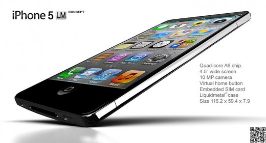iPhone 6G Konzept: iPhone 5LM