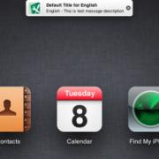 iCloud.com: Benachrichtigungs-Leiste à la iOS 5