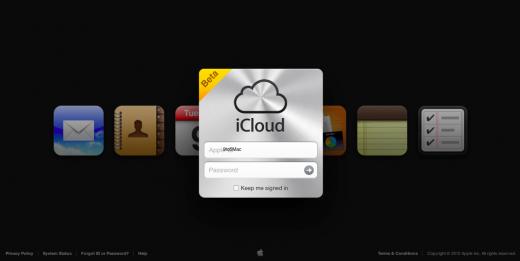 Notizen und Erinnerungen: iCloud-Website zeigt neue Web Apps