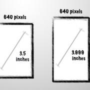 iPhone 5 Display, nachgerechnet: Aus 3,9 werden 4 Zoll