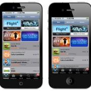 Mockup: Der AppStore auf einem 4-Zoll Display (OverdriveDesign)