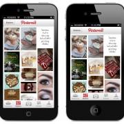 Mockup: Pinterest auf einem 4-Zoll Display (OverdriveDesign)