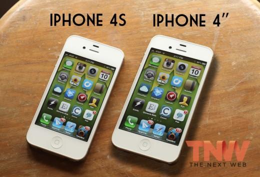 Könnte so ein iPhone 5 mit 4-Zoll Display aussehen? (Mockup von TheNextWeb)