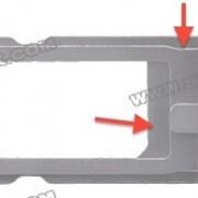 Angeblicher iPhone 5 SIM-Karten Einschub: Infos über zukünftiges Design?