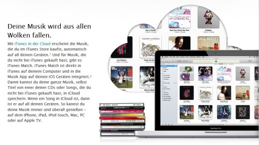 iTunes Match: Jetzt auch in Österreich verfügbar