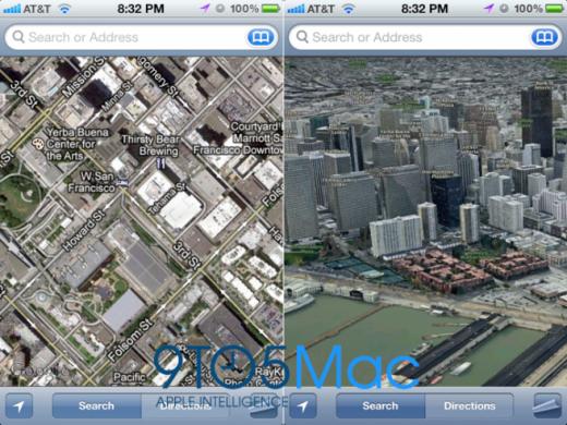 iOS 6 Features: Google Maps wird ausgetauscht