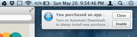 OS X Mountain Lion: Automatische App-Downloads mit an Bord?