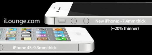 iLounge: iPhone 5 wird dünner, größer und bekommt neuen Dock Connector