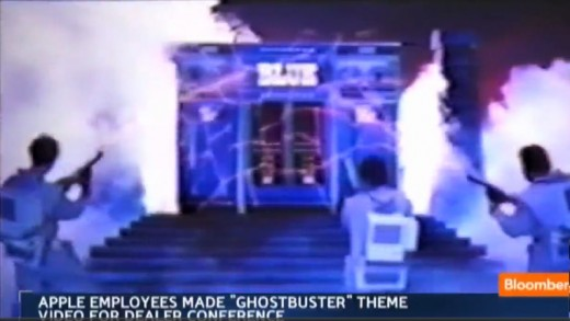 Blue Busters: Steve Jobs als Ghost Buster in internem Videoclip